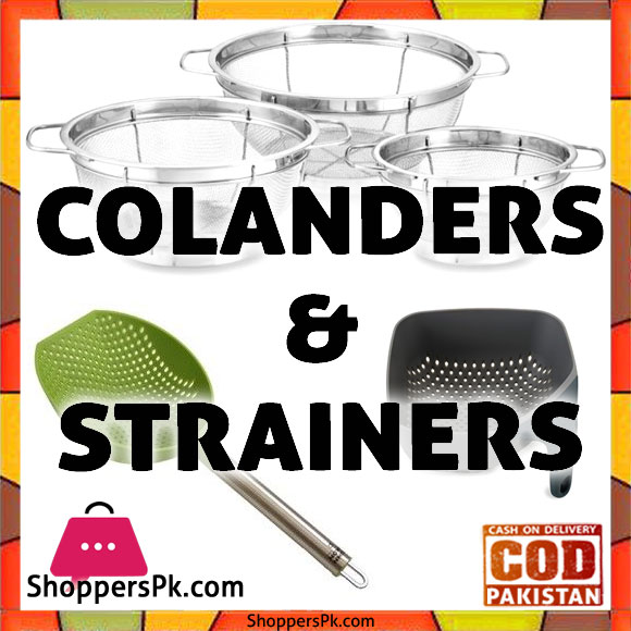 Stainless Steel Mesh Colanders Price in Pakistan