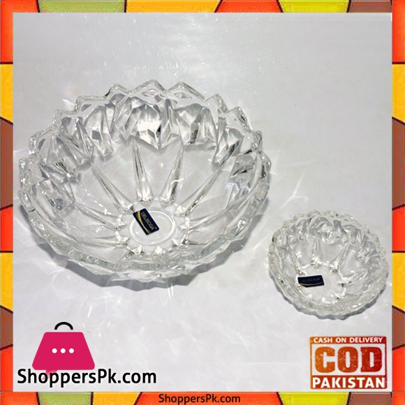 Crystal Fruit Bowls And Ice Cream Set 7 Pieces Q5 Small