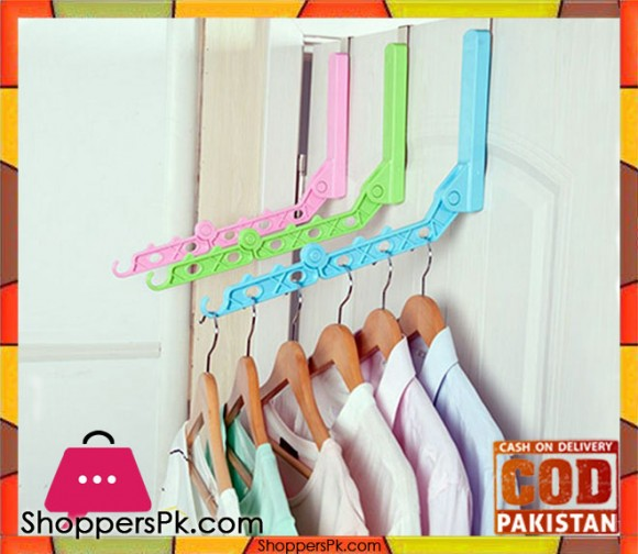 Door Hanging Foldable Clothes Hanger