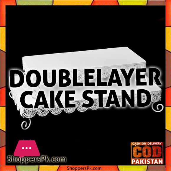 Double Layer Cake Stand in Karachi
