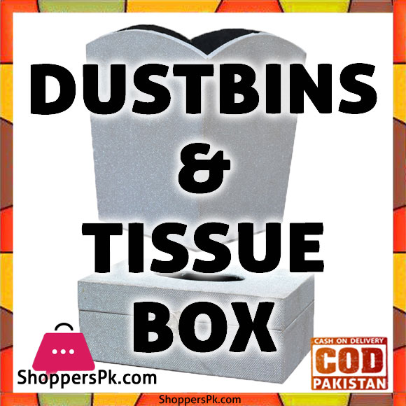 Dustbins & Tissue Box Price in Pakistan