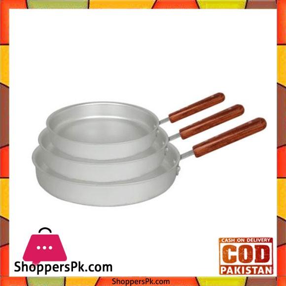 Euro 3 Pieces Frying pan Plano FPP-017 A