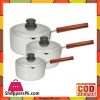 Euro 3 Pieces Sauce Pan Plano SPP-012 A