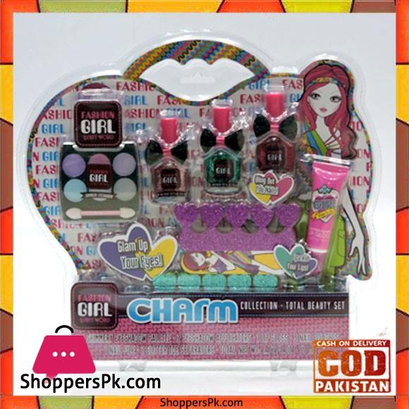 Fashion Girl Charm 10 Pieces Beauty Set AR1