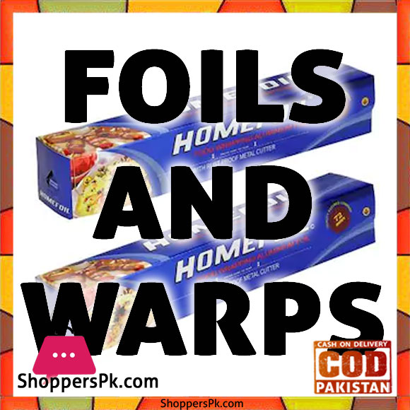 Foils & Wraps Price in Pakistan