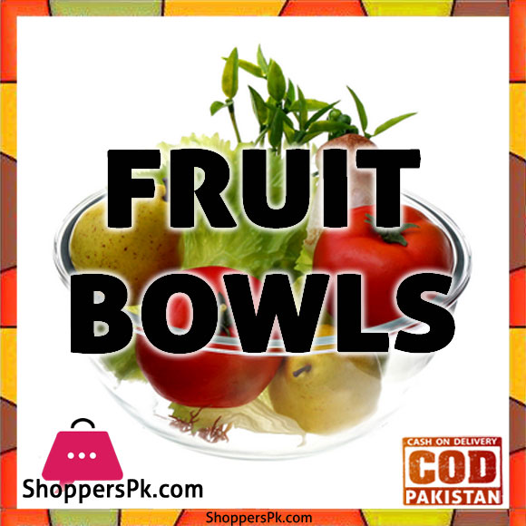 Crystal Fruit Bowls Set in Lahore
