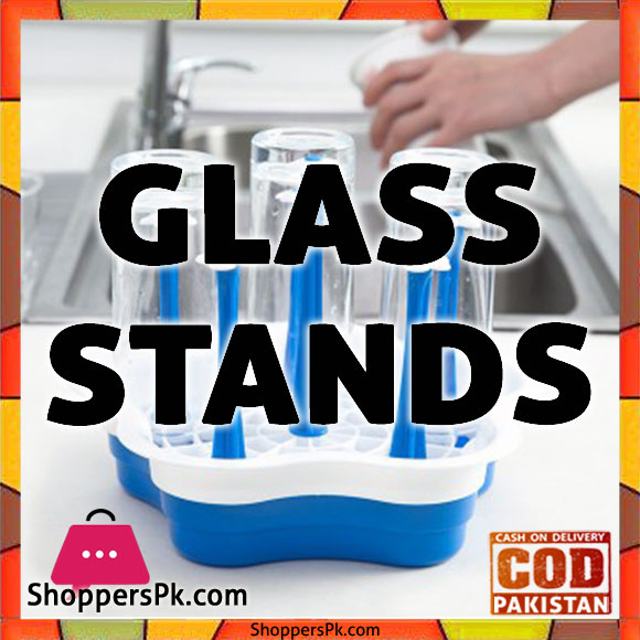 Glass Stand Plastic in Lahore