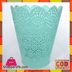 Green-Round-Pattern-Small-Dustbins