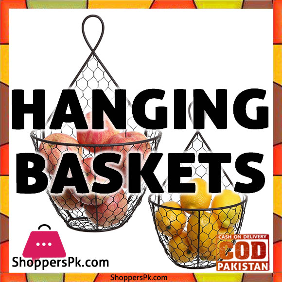 Diy Hanging Kitchen Basket