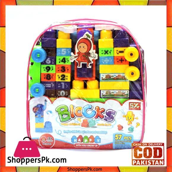 Happy Childhood 57 Pcs Building Blocks