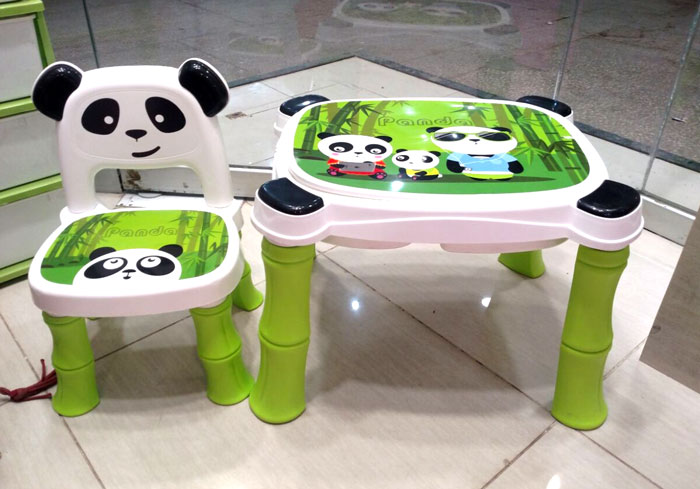 Tremendous A B High Quality Fiber Plastic Panda Chair Table For Kids 8006 Gmtry Best Dining Table And Chair Ideas Images Gmtryco