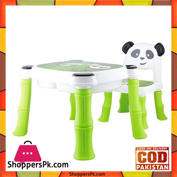 Surprising A B High Quality Fiber Plastic Panda Chair Table For Kids 8006 Gmtry Best Dining Table And Chair Ideas Images Gmtryco