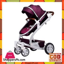 High Quality Luxury Baobaohao Baby Stroller Purple And Blue
