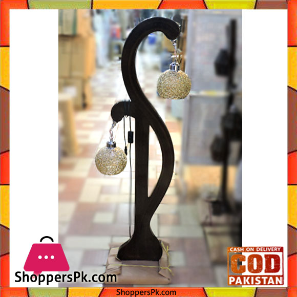 Buy High Quality Wooden Floor Lamp Hanging 2 Crystal Ball