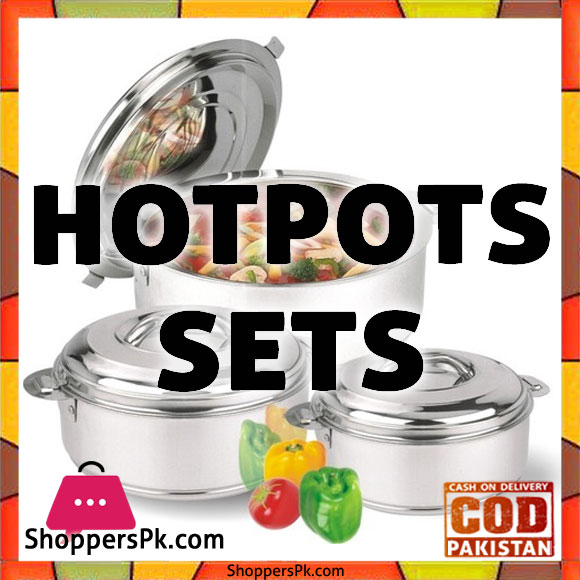 Hot Pots Sets Price in Pakistan