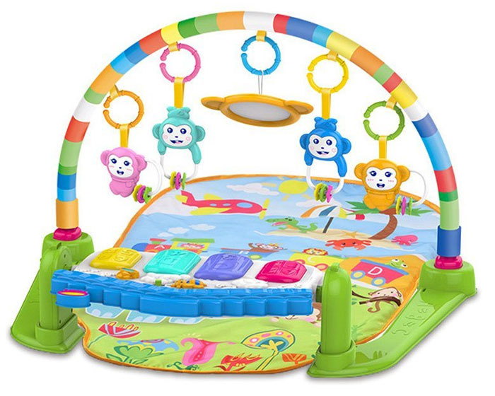 Buy Huanger Baby Play Gym Piano Fitness Rack 3 In 1 Music