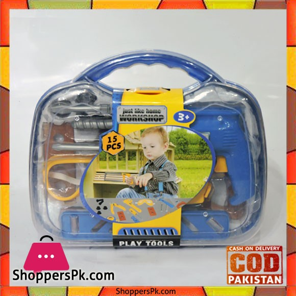 Kid Play Tools Set 15 Pieces