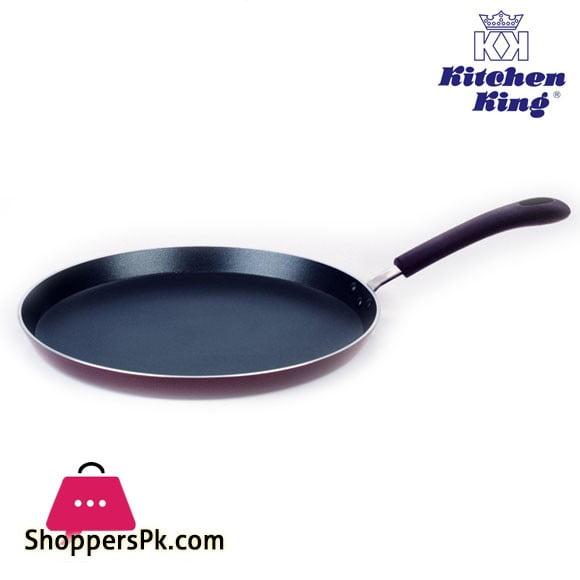 Kitchen King Crepe pan Tawa Non Stick 30cm