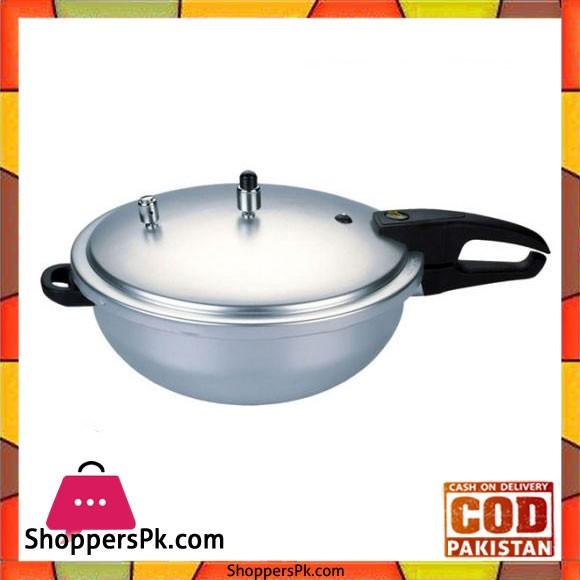 Kitchen King Wok Style Pressure Cooker 7 Liter