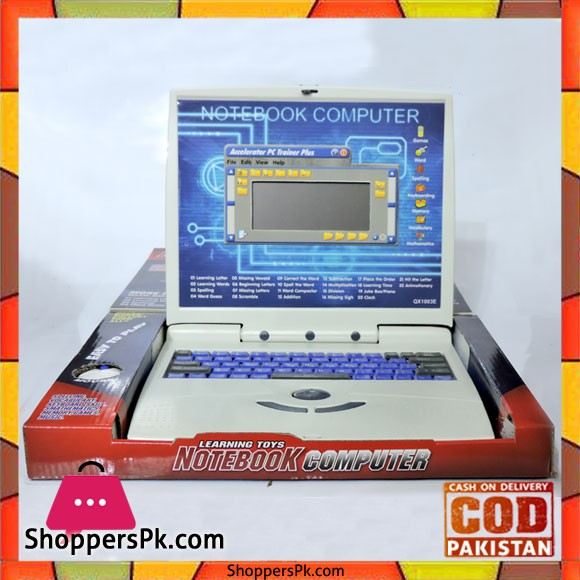 Learning Toys Notebook Computer For Kid