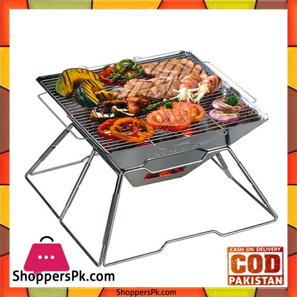 Magic Stainless Steel BBQ Grill Outdoor Camping