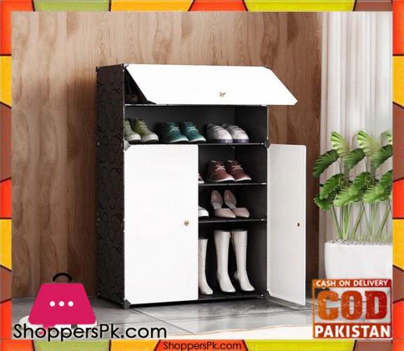 Multi Purpose Diy Cabinet Black and White