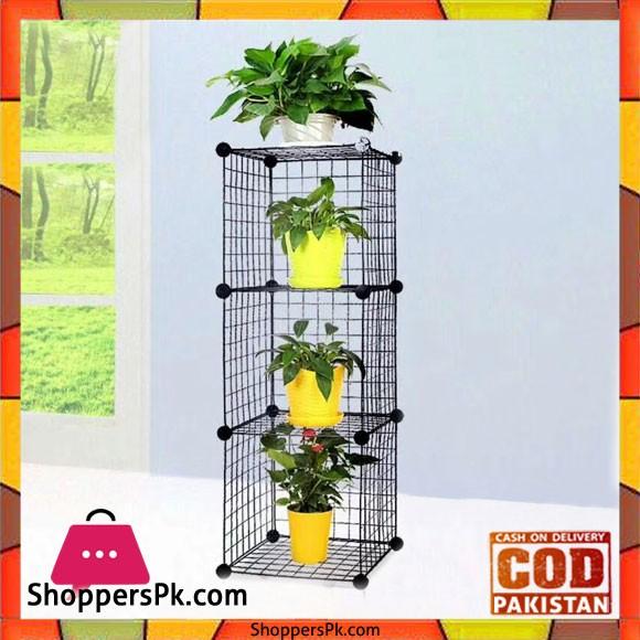 Multi Use DIY Wire 3 Cube Cabinet