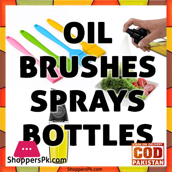 Oil Brushes/Sprays/Bottles Price in Pakistan