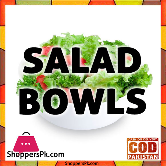 Glass Salad Bowl With Lid Price in Pakistan