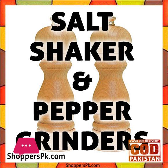 Salt Shaker & Pepper Grinders Price in Pakistan