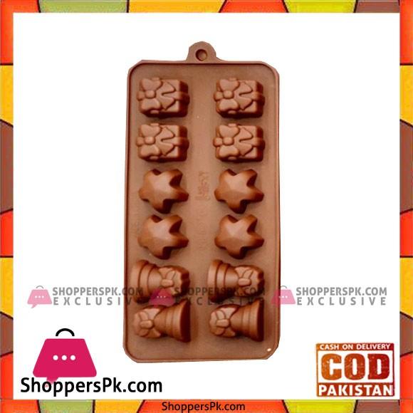 Silicone Chocolate Mold A4