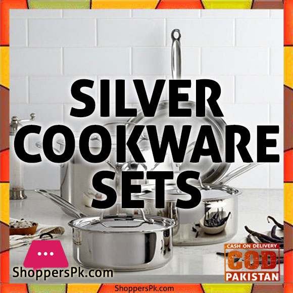 Sonex Cookware Price in Pakistan Silver Set