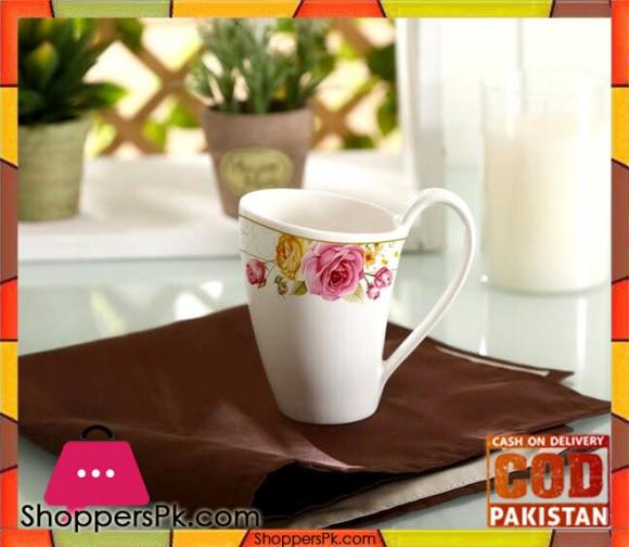 Solecasa Flower Print Mug Set Six Pieces L2