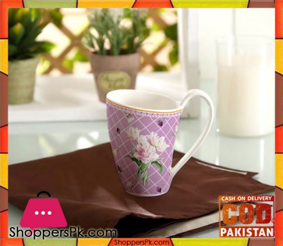 Solecasa Flower Print Mug Set Six Pieces L3