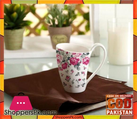 Solecasa Flower Print Mug Set Six Pieces