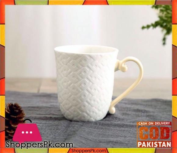 Solecasa Tea Mug White Six Piece Set SW2