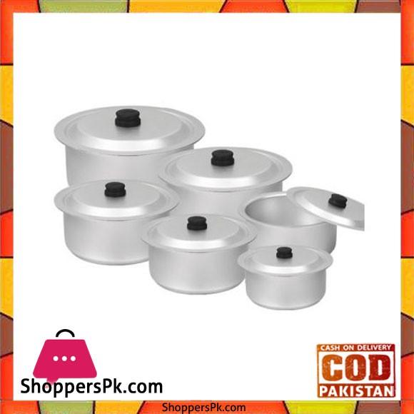 Sonex Anodized 6 Pots Set – 50459