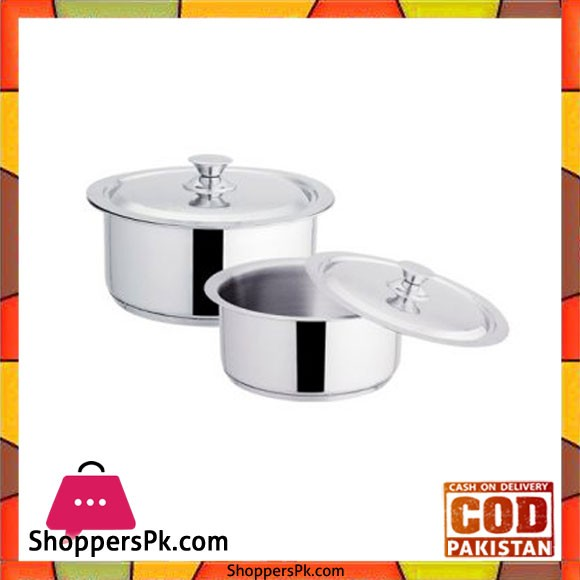 Sonex Global Cooking Pots Set – 50588 – Stainless Steel