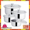 Sonex Global Cooking Pots Set – Stainless Steel
