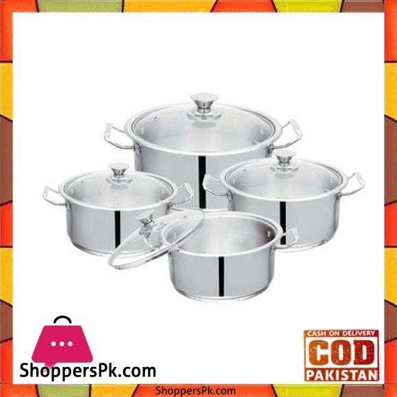 Sonex Mega Super Set – 4 Cooking Pots Set – 50608