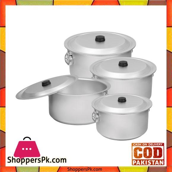 Sonex Revolving Handle 4 Pots Set