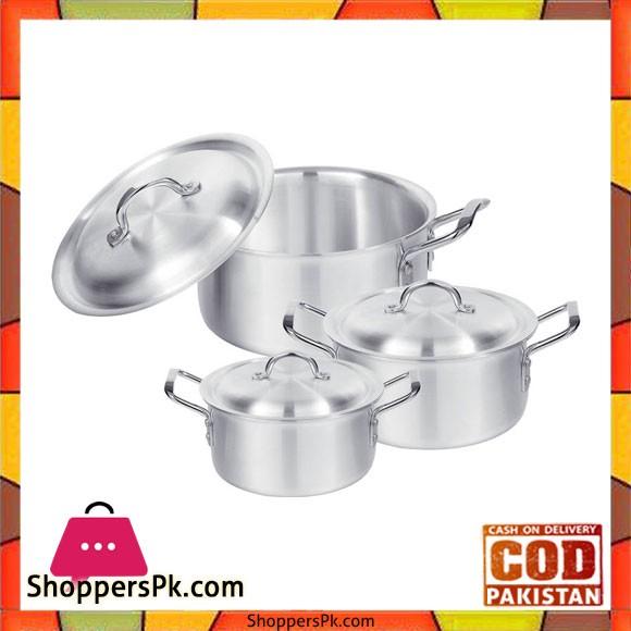 Sonex Set – Professional Cooking Pots 8×10
