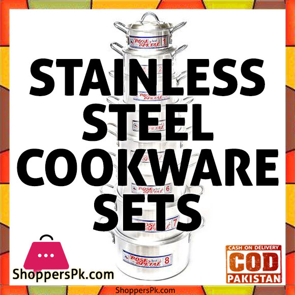 Stainless Steel Cookware Sets Price in Pakistan