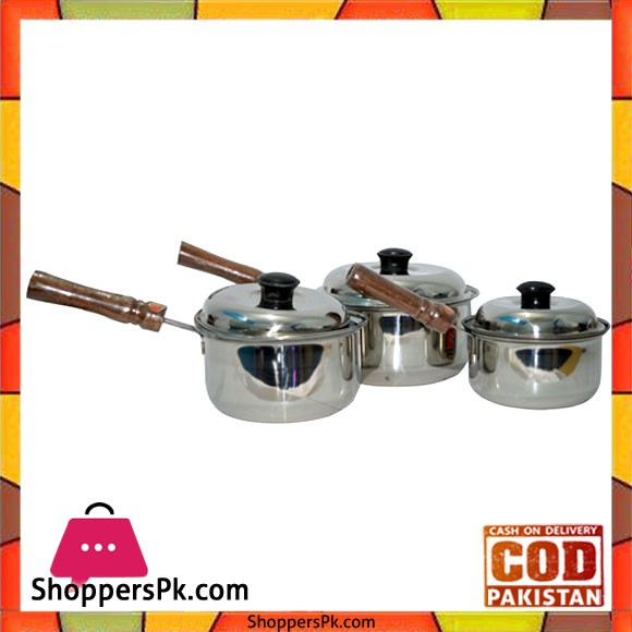 Stainless Steel Sauce Pan One Piece (No 3)