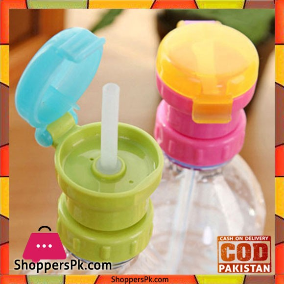 Straw Cap For Any Bottle One Piece