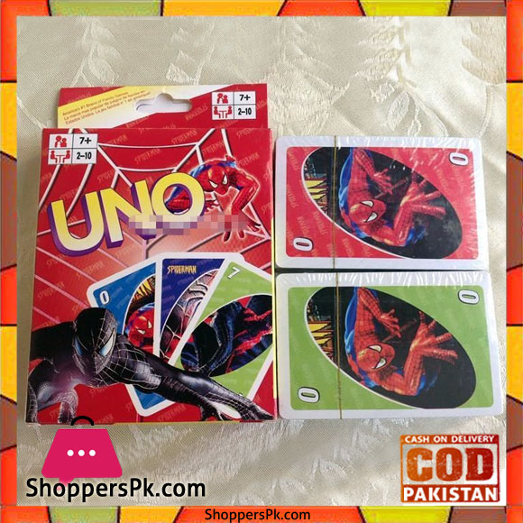 Kid Electric Car >> Buy UNO Spider-Man Card Game For Kid at Best Price in Pakistan