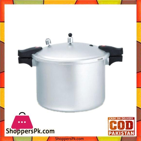 Euro Ultra Pressure Cooker – Anodized - 25 Litre