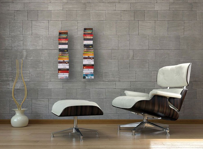 Wall Hanging Book Shelf Metal 3 Piece Set