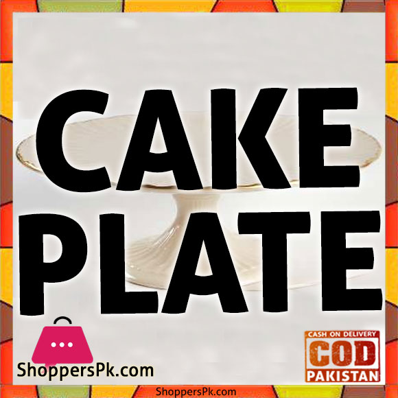 Cake Plate With Cover in Lahore