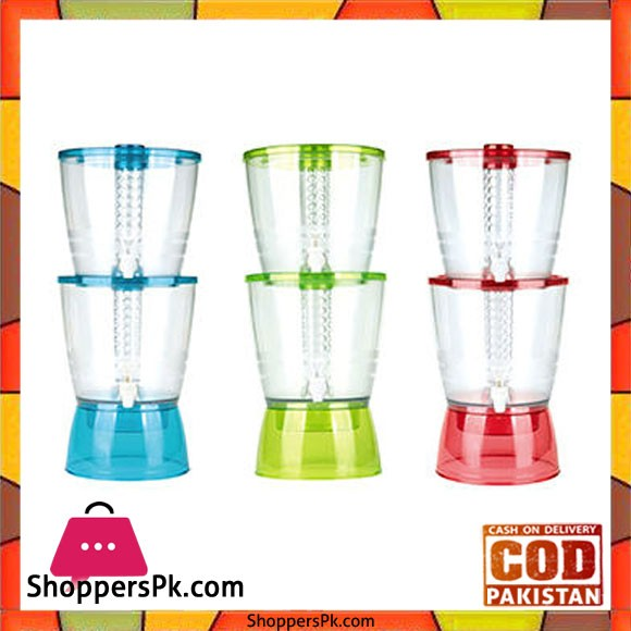 2-Layer Flavor Infused Dispenser with Large Capacity